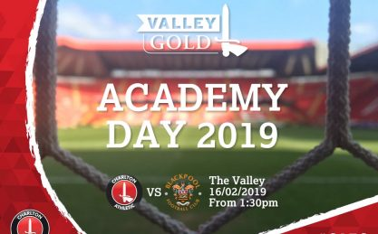Charlton Athletic Academy Day 2019